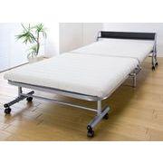 宮付きリクライニング折りたたみベッド