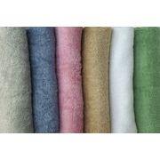 ホテル業務用仕様_220cmロングサイズシーツバスタオル。ザックリ厚めでエステ用にも最適!