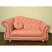輸入家具:子供ソファ:プリンセス:2人掛け:3色