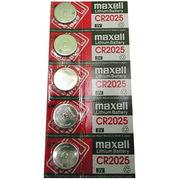 マクセル(maxell)リチウムコイン電池 CR2025(5個組)