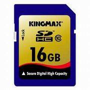 KM-SDHC10x16G  KINGMAX  �L���O�}�b�N�X  SDHC�J�[�h Class10 16GB ���[�J�[�i�v�ۏؕt��