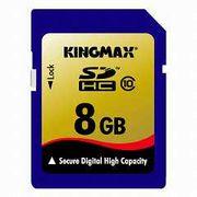 KM-SDHC10x8G  KINGMAX  �L���O�}�b�N�X  SDHC�J�[�h Class10 8GB ���[�J�[�i�v�ۏؕt��