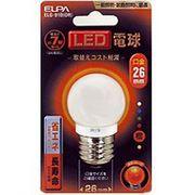 ELG-01B-OR  ELPA LED電球 オレンジ