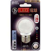 ELG-01B-W  ELPA LED電球 ホワイト