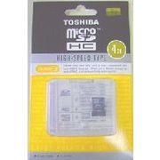 東芝純正(日本製) microSDHC4GB(アダプターなし) 激安卸950円から