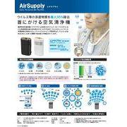 携帯型空気清浄機 「エアサプライ」