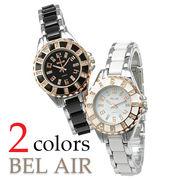【煌めくラインストーン】★レディース・ピンクゴールド 腕時計 OSD75