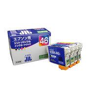 JIT-E464PZ サンワサプライ リサイクルインクカートリッジ ICBK46・ICC46・ICM46・ICY46対応