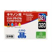 JIT-C3203214P サンワサプライ リサイクルインクカートリッジ BCI-321C・M・Y・321BK