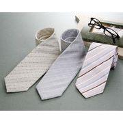 カラー、白系ワイシャツと合わせやすい!シルク100%ネクタイ3本セット
