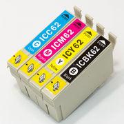 エプソン[EPSON]互換インクカートリッジ IC62系(IC4CL62) 4色
