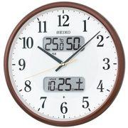 【新品取寄せ品】セイコークロック 電波掛時計 KX383B