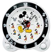 【新品取寄せ品】セイコークロック ディズニータイム「ミッキー&フレンズ」目覚まし時計 FD461W