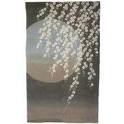 【ご紹介します!職人がこだわって創る本物志向の のれん「桜月夜」!麻100%の高級品です!】