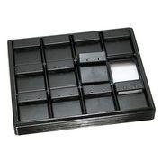 ディスプレイ用品: イヤリングホルダー 黒 e-h-52