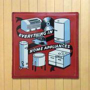 ホーロー看板 HOME APPLIANCES