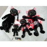 米田民穂さん 黒猫のスクラッチ 灰猫、黒白猫