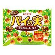 ◆大人数で分けて楽しむ◆64層のサクサクパイにチョコがいっぱい!【ロッテ パイの実シェアパック】