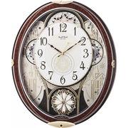 【代引不可】 スモールワールド メロディ電波からくり掛時計(30曲入) 壁掛け時計