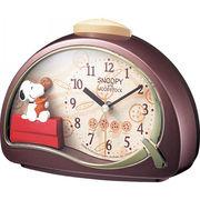 【代引不可】 スヌーピー 目覚まし時計 目覚まし時計