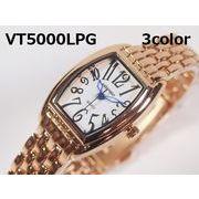 VITAROSOレディース腕時計 メタルウォッチ 日本製ムーブメント ピンクゴールド仕上げ