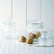 【手作り雑貨】グラスジャー プチ Glass jar petti◆ガラス容器/瓶
