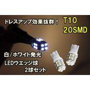 20SMD T10/T16 LED �� �E�F�b�W �o���u
