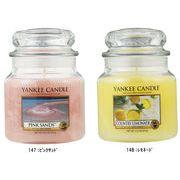 【キャンドル】YANKEE CANDLE アロマキャンドル YCジャーM/生活雑貨