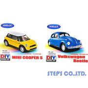 ☆1/43 DIY モデルキット[MINI COOPER S/Volkswagen Beetle]