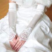 結婚式★ウエディングドレスの手袋★美しい★ブライダルグローブ★