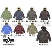 【アルファ】 N-3B タイトフィット ジャケット 全8色 メンズ