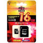 Good-J microSDXCメモリーカード 16GB Class10 G-MICROXC32-C1