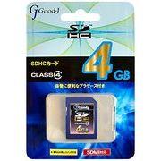 Good-J SDHC�������[�J�[�h 4GB Class4 G-SDHC4-C4