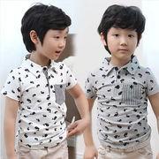 ★韓国風★夏新型★キッズファッション★キッズ男の子 ★半袖Tシャツ
