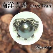 リング / 11-0095  ◆ Silver925 シルバー リング 南洋真珠