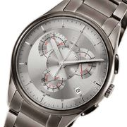 カルバン クライン ベーシック クオーツ メンズ 腕時計 CLK2A27926 シルバー