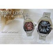 メタルバンド ペアウォッチ 4カラー レディース&メンズ腕時計 NL-2230