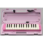 ヤマハ製32鍵盤ハーモニカ ピアニカ ピンクP-32EP/P32EP/YAMAHA
