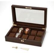グッズプレス3月号掲載商品【Wooden Watch Case】木製ウォッチケース10本用
