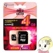G-MICROHC4-C4 �f������?�� microSDHC�������[�J�[�h�@4GB�@CLASS4