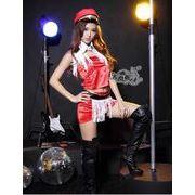 ステージ衣装 婦警 女警官 警察 コスプレ レースクイーン コスチューム ハロウィン仮装 bwn0089-1
