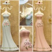 ★【SALE/値下げ】★ウーデンアクセサリーホルダーLady Dress♪