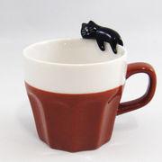 concombre うとうとマグカップ(黒猫)