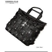 ★イントレチャートに百合の紋章がクール!★ROCKスタイルにマストなバッグ★