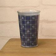 【SALE/値下げ】デザイングラスタンブラー(タータンチェック)5個セット♪