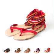 【即納】ボヘミアサンダル♪全5色●★al-bxm36-69【自社工場生産】靴/大きいサイズ/レディース/可愛い