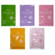 薬用入浴剤(1包単位で購入可) ゆらぎの湯シリーズ 5種の香り/日本製