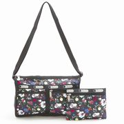 LeSportsac 7519 D839 School'S Out �f���b�N�X�V�����_�[�T�[�`�F�� Deluxe Shoulder Satchel  ���f�B�c