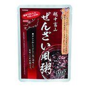 越中富山 ぜんざい風粥(玄米粥)減塩  健康食として・美容食として・保存食として /日本製