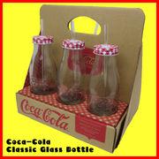 コカコーラ クラシックグラスボトル ストロー付
